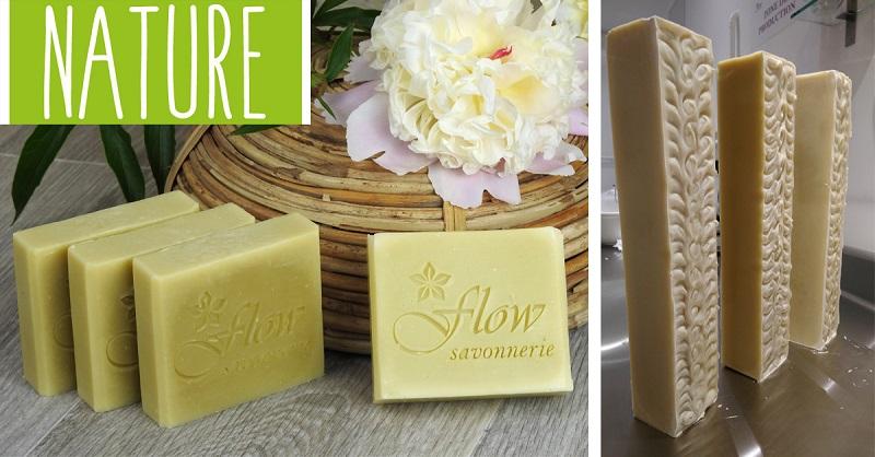 shampoing solide et au savon saponifié à froid